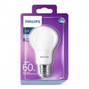Lampadina LED goccia luce bianca fredda A60 E27 60W 6500K...