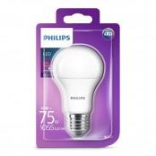 Lampadina LED goccia luce bianca fredda A60 E27 75W 6500K...