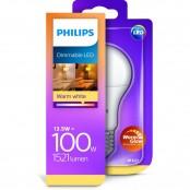 Lampadina LED Goccia 40W E27 luce calda dimmerabile A+