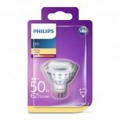 Lampadina LED faretto 50W GU5.3 2700K non dim fascio 36°...