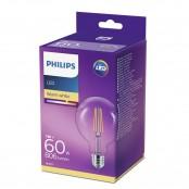 Lampadina LED globo Classic in vetro filamento 60W E27...