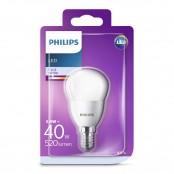 Lampadina LED sfera 40W E14 4000K non dim LEDSF40SME14CW