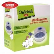 CRESCENDO Sterilizzatore per forno a microonde