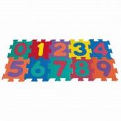 Tappeto Puzzle Numeri 10 pz.