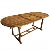 Tavolo ovale allungabile Newport 90x150/200x74 cm