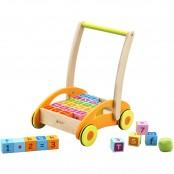 Baby carrello con blocchi colorati 3306