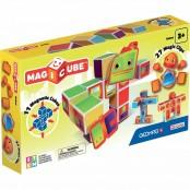Magicube Robot 11 cubi e 27 clips magnetiche