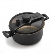 Casseruola a bassa pressione +Cook Ø 24 cm