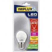 Lampadina LED Sfera G45 6W E27 3000K LCS740