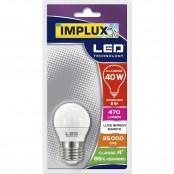Lampadina LED Sfera G45 6W E27 6500K LFS740