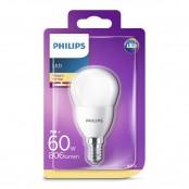 Lampadina LED sfera 60W E14 2700K non dim LEDSF60SME14