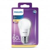 Lampadina LED sfera 60W E27 2700K non dim LEDSF60SM