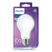 Lampadina LED goccia in vetro 100W E27 4000K non dim...