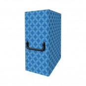 Valigetta portaprogetto con maniglia Metal Blu