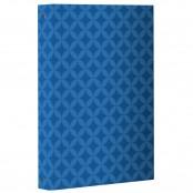 Raccoglitore ad anelli Wallpaper Metal Blu