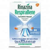 RespiraBene cerottini nasali Trasparenti 30 pz.