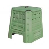 Bio-Composter per compostaggio 80x80x82 cm 380l