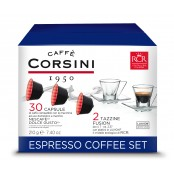 ESPRESSO COFFEE SET BLU