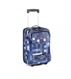 TROLLEY INVICTA TRAVEL35 BLU immagine thumbnail