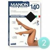 Collant massaggio forte 140 denari 2 nero