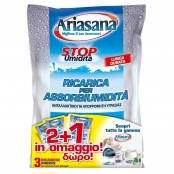 Ricarica sali per assorbiumidità Inodore 2 buste + 1 omaggio