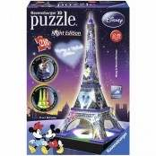 Puzzle 3D Building Special Tour Eiffel Disney night edition