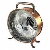 Ventilatore da terra ramato VE.450