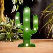 Lampada LED a forma di cactus