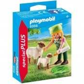 Special Plus Ragazza con pecora e agnellino 9356