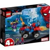 Marvel Super Heroes Inseguimento in auto di Spider-Man 76133