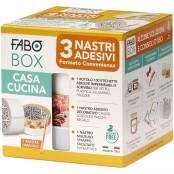 Confezione BOX da 3 nastri adesivi + matita Casa e Cucina