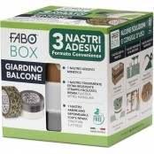 Confezione BOX da 3 nastri adesivi Giardino e Balcone