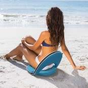 Sedia cuscino pieghevole da spiaggia