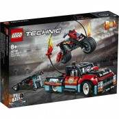 Technic Truck e moto dello Stunt Show 42106