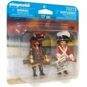 Pirates Duo Pack Pirata e soldato della marina reale