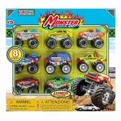 Monster Trucks 20806 8 pz.