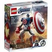 Marvel Super Heroes Armatura mech di Capitan America 76168