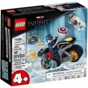 Marvel Super Heroes Scontro tra Captain America e Hydra 76189