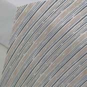 Lenzuolo sopra 2P Riga Blu 240x280 cm
