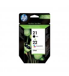 MULTIPACK 2 CART.HP N21 E N22 immagine thumbnail