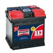 Batteria auto 55Ah 480A AX3 Dx
