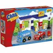 Cars for Kids Playset Stazione di Servizio 43 pz.