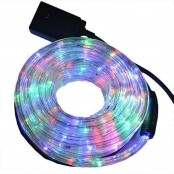 Tubo luminoso led multicolore 3 funzioni 8m per esterno