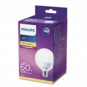 Lampadina LED globo smerigliata bianco caldo G93 E27 60W...