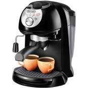 Macchina per caffè con cappuccinatore 15 bar nero EC201CD.B