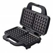 Waffle maker argento/nero SW-297MW