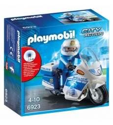 PLAYMOBIL MOTO DELLA POLIZIA immagine thumbnail