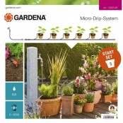 Start Set per l'irrigazione a goccia di piante in vaso...