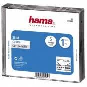 Confezione da 5 custodie CD slim 00051289