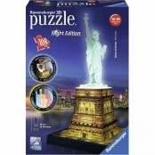 Puzzle 3D Building Special Statua della Libertà night...
